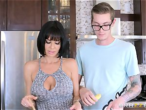 mischievous mom Veronica Avluv drilling her sons-in-law wild acquaintance