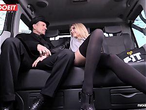 taxi Driver spunks a few Times In fabulous Czech muff