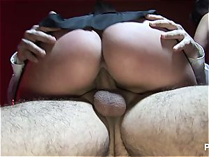 Michelle Thorne boinking with the Lee twins