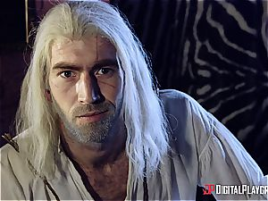 Danny D fools around as Geralt and boinks black-haired stunner