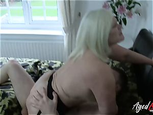 AgedLovE hardcore with steamy Mature Lacey Starr