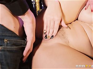 Monster hard-on longing Amirah Adara and Angel Wicky