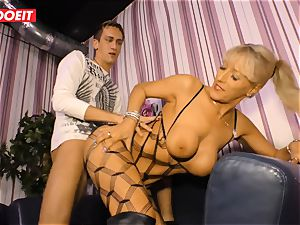 LETSDOEIT - super-hot aunt-in-law rides cousins cock On hook-up tape