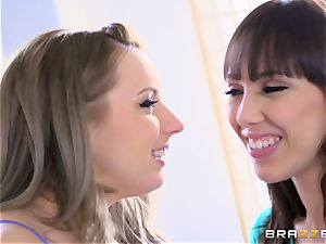 hot insatiable lesbos Lexi Belle and Jenna Sativa