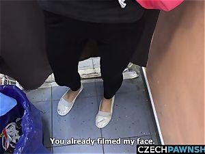Desperate Czech beauty Needs Money