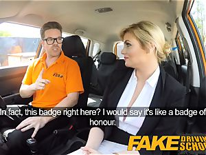 fake Driving college Posh kinky busty examiner