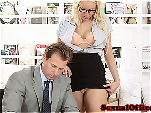 Vixen Vanessa cell at work getting humped superb