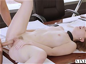 VIXEN Intern dominated By Her Father's business partner