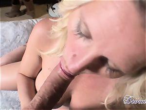 Devon Lee is lovinТ her man's whip rammed in her tastey jaws
