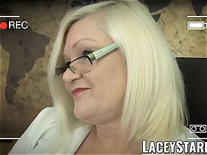 LACEYSTARR - GILF heals patient with all girl orgasm