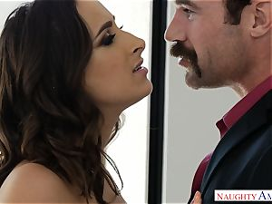 Married Ashley Adams craves spunk-pump deep in her pussy