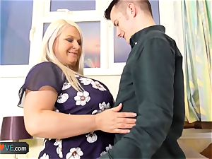 Agedlove stud porked mature plump