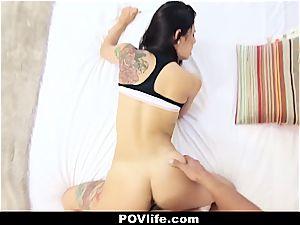 uber-sexy Latina Gina Valentina pov humping