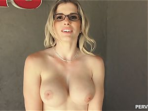 Stepson doesnt hold back tucking his hard-on into milf Cory haunt