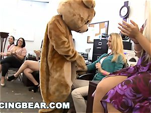 DANCINGBEAR - CFNM Office soiree manstick Blowout (db9442)