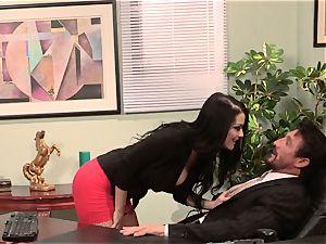 secretary Katrina Jade ravages her steaming chief at work