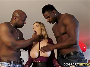 Candy Alexa Know How To suck And penetrate A yam-sized ebony man meat