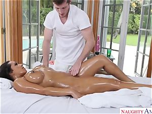 Exotic body rubdown with buxomy Indian hotty Priya Price