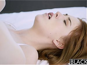 BLACKED ginger-haired Gwen Stark likes her very first ebony trouser snake!