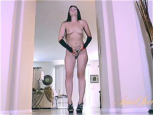 Olivia naughtier teases in uniform