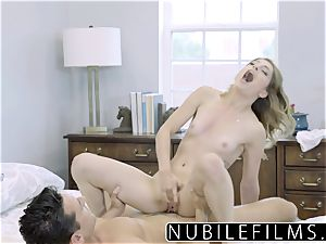 NubileFilms - Day Dreaming About fuckpole Till She shoots a load