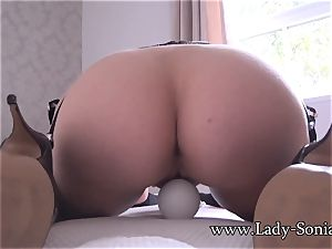 I caught my mature aunt-in-law jacking with a hitachi