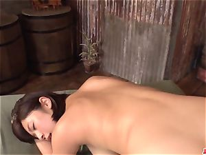 Wakaba Onoue unbelievable showcase of awesome pov oral lovemaking