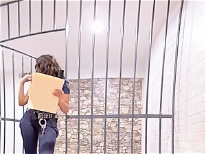 VR PORN-August Ames Get torn up rock-hard in prison