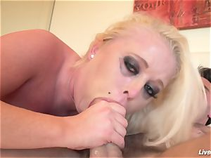 LiveGonzo Angel Vain Gets her culo poked