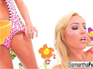 Samantha Saint and Victoria white penetrate