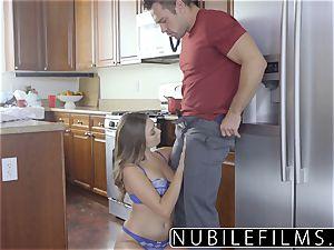 NubileFilms - torrid daughter-in-law penetrates Moms beau