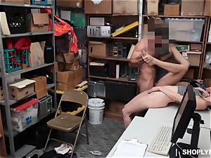 Brunettes Zoey Laine and Charity Crawford hammered by security guard
