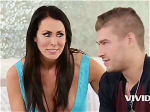 Reagan Foxx gets porked rigid with her step son-in-law