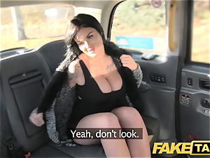 fake taxi Frustrated big-titted Candy Sexton