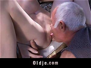senior fellow plumbed again by insatiable Denisa