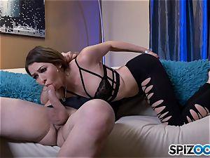 insane Melissa Moore gets her hatch utter of cum after hard plow