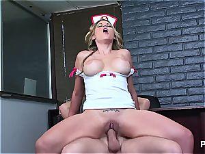 Another whorish nurse getting it