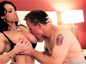 Alura Jenson and her vagina gobbling buddy Brandi May get into deep trouble
