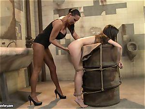 Anna Marie La Sante munch the frigs of a nasty mega-slut