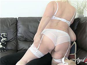 AgedLovE Lacey Starr seduces xxx romp paramour