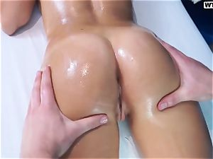 nice Russian female Ally on a fucky-fucky rubdown session