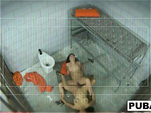 London and Jessica in prison