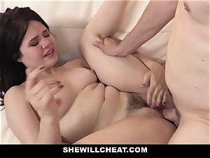 SheWillCheat - japanese wifey pulverized By screw pal