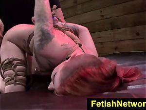 FetishNetwork Sheena Rose tormented clittie