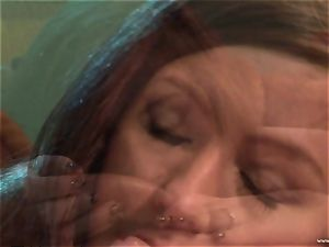 Maddy OReilly gets her throat filled with enormous jism