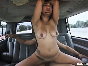 asian stunner picked up and boned
