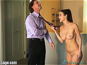 Dillion Harper penetrated by her step father