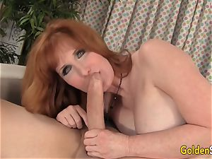 Mature red-haired Freya Fantasia Is drilled