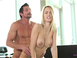 Erica Fontes teases her man for buttfuck