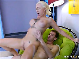 Harlow Harrison impaled with thick monster manmeat of Danny D